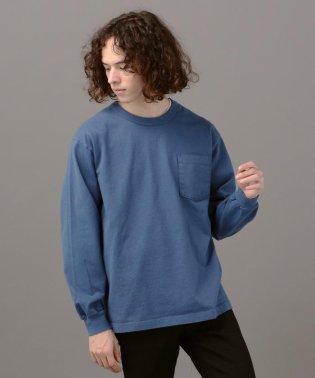 LOS ANGELES APPAREL×SHIPS JET BLUE: ヘビーウェイト ポケット ロングスリーブ TEE