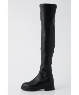 SQUARE TOE KNEE HIGH BOOTS