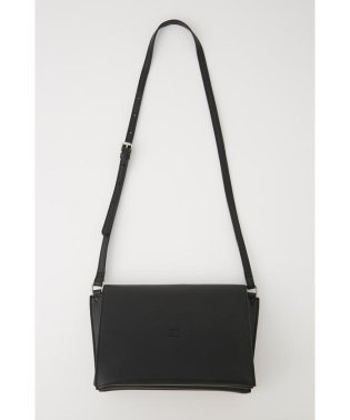 SMOOTH LEATHER SHOULDER BAG