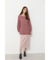 Low Gauge Big Knit TOP