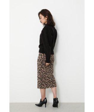 Leopard JQ Knit J/W SK