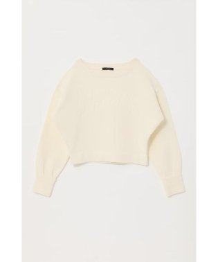 Emboss Logo Knit TOP-R