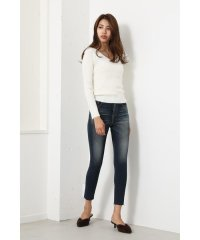 Washable VN RIB Knit TOP