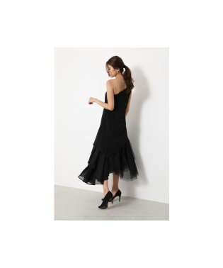 Volume Hem Asymmetry Dress