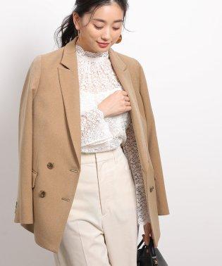 ウール調Wブレストジャケット