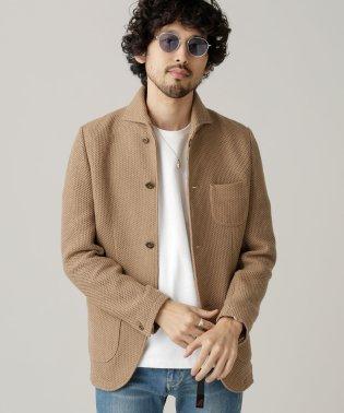 イタリアンカラーニットジャケット