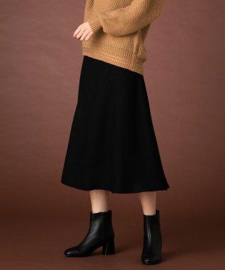 ニットAラインスカート