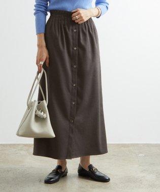 ウエストピンタックゴムスカート