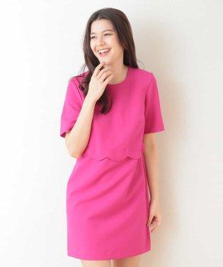 ウェーブデザインドレス