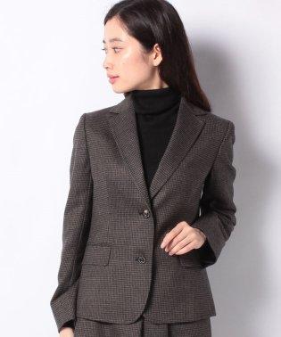 WEB限定OEPP【セットアップ対応商品】ハウンドトゥースジャケット