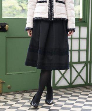 シャイニーグログランスカート