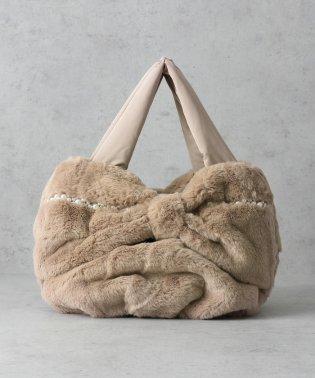 パールフラッフィートートバッグ