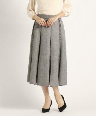 プルックツイード スカート