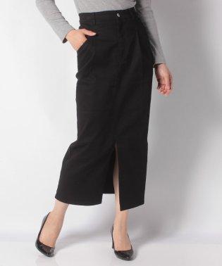 【Omekashi】リメイクツイルタイトスカート