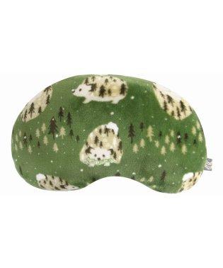 コージー 豆型クッション ハリネズミ グリーン