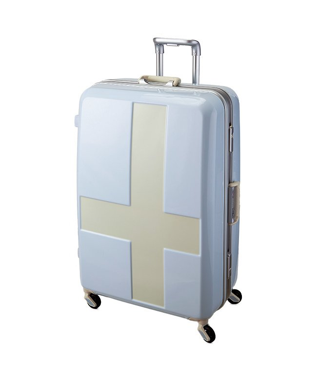 (innovator/イノベーター)イノベーター クロスペイント スーツケース 90L Lサイズ フレームタイプ innovator INV68T/ユニセックス アイボリー