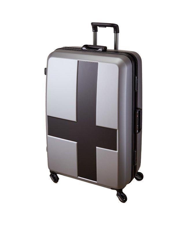 (innovator/イノベーター)イノベーター クロスペイント スーツケース 90L Lサイズ フレームタイプ innovator INV68T/ユニセックス ブラック