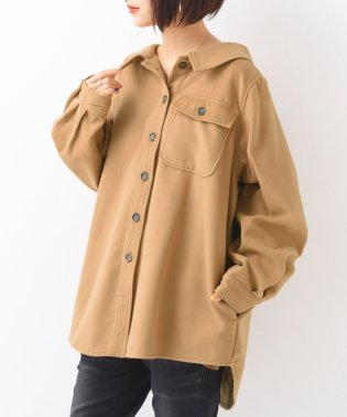 『n'OrメルトンCPOシャツジャケット』