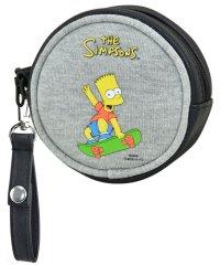 ザ シンプソンズ The Simpsons 丸型コインケース スケボー SMP スウェット
