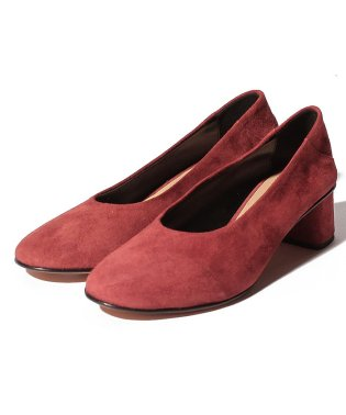 【SHIPS for women】FABIO.R:SUEDE ROUND TOE