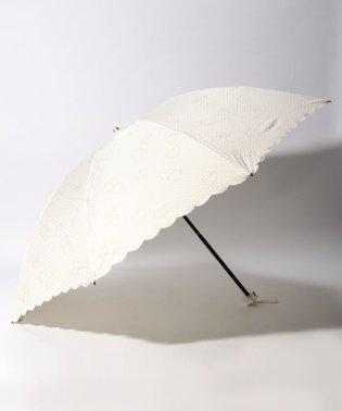 FURLA(フルラ)折りたたみ傘 【無地 ハートグリッター】