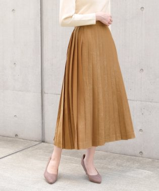 DVブラッシュサテン スカート