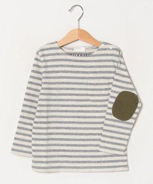 ボートネックボーダーバスクシャツ