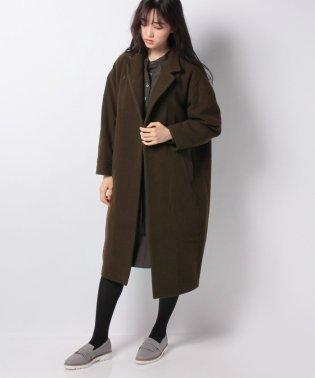 【mizuiro ind】stand collar long コート
