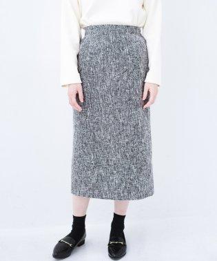 きちんと見せたいときのツイード調スカート by que made me