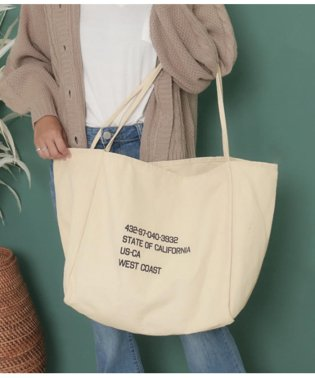 ミリタリープリントキャンバスバッグ