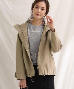 グログランフードジャケット