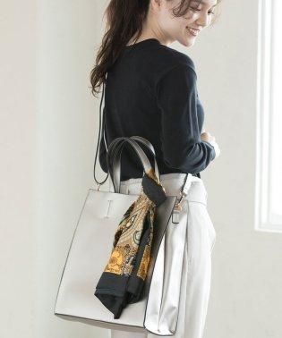 【WEB限定】スカーフ付き縦長トートバッグ