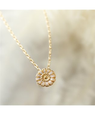 LD HEN 6BIS Henriette Small enamelled pendant アンリエット ペンダント チェーン ネックレス ゴールド