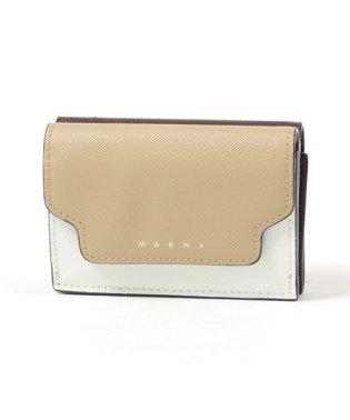 PFMOW02U09 LV520 レザー 三つ折り財布 ミニ財布 スモール 豆財布 Z244M レディース