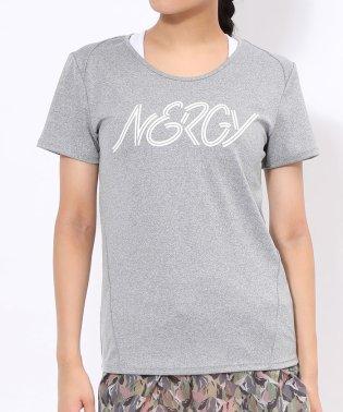 NERGYロゴフィットTシャツ