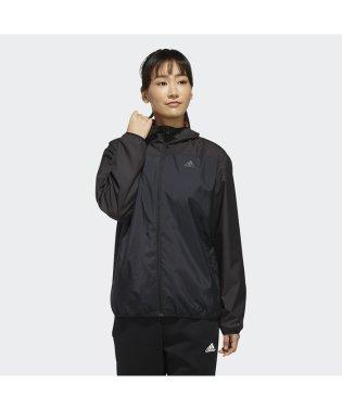 アディダス/レディス/W MH カラーブロック ウインドブレーカージャケット (裏起毛)