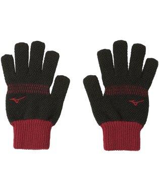 ミズノ/ブレスサーモ手袋(鹿の子のびのび)
