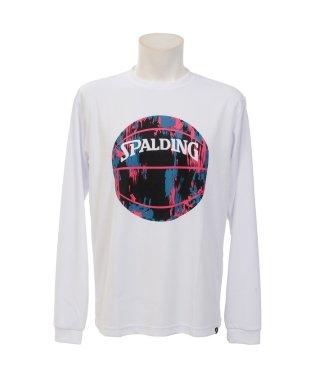 スポルディング/L/S Tシャツ-マーブルボール