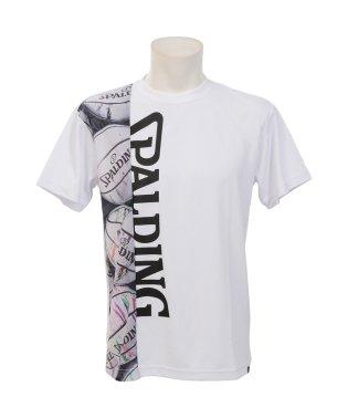 スポルディング/Tシャツ-マーブルロゴ