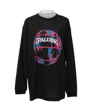 スポルディング/キッズ/ジュニアL/S Tシャツ-マーブルボール