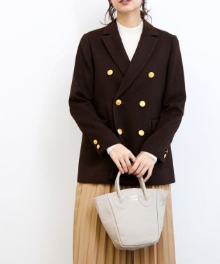 【 YOUNG&OLSEN】PETITE LEATHER TOTE