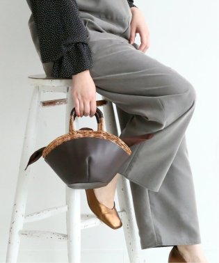 【Bagmati / バグマティ】カゴハンドバッグ◆