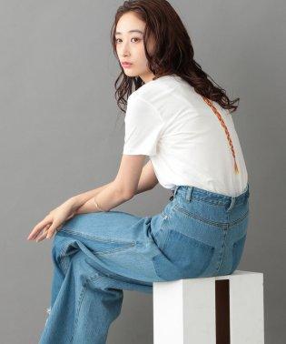 バックラインプリントTシャツ  【Backプリント】