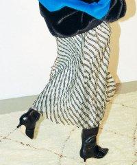 フロッキー&チュールコンビスカート