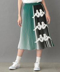 【Kappa】BANDAラインプリーツスカート