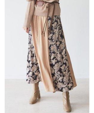 ミックスパターンパネルスカート