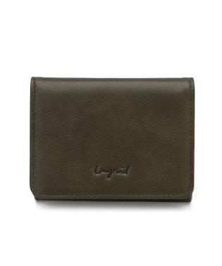 イタリア製牛革三つ折りミニ財布