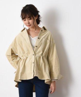 ストレチコールテンCプルオーバーシャツジャケット