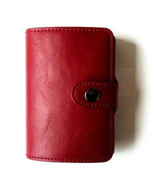 クレジットカードケース 「スキミング防止 マネークリップ アルミ レザー スライド カードケース」 スリム メンズ 財布 小銭入れ 磁気防止 コンパクト 革 カ