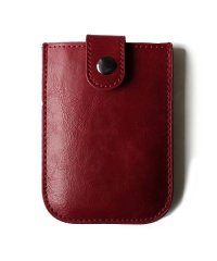 カードケース 薄型 「スリム レザー スライド カードケース」 メンズ ポイントカード クレジットカード コンパクト 革 薄い ポケット カード収納 レディース